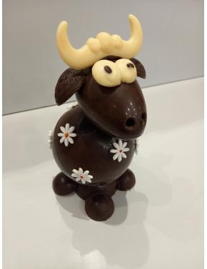 Vache chocolat noir